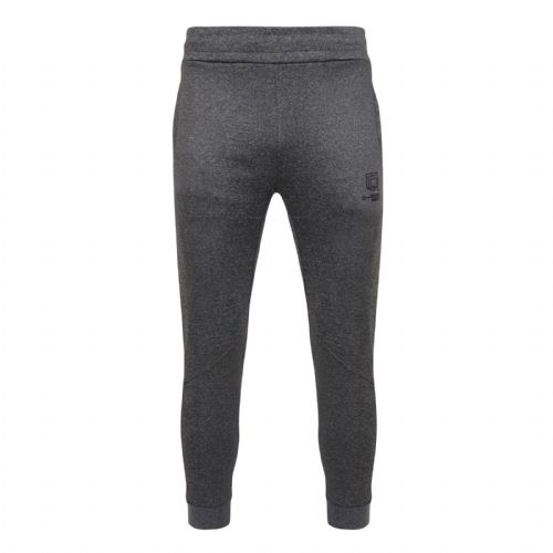 Rock Mens Grey Tapered Fit Jogging Bottom Track Pants